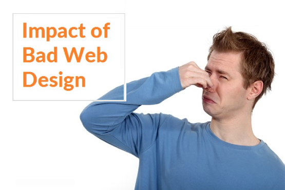 Impact of Bad Web Design
